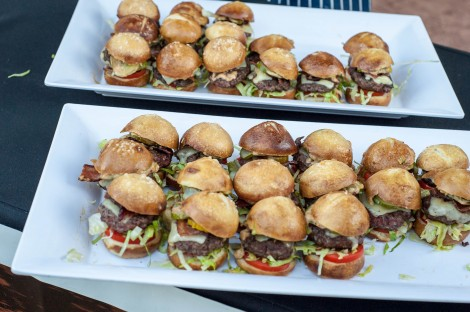 Delicious Burger Samples!