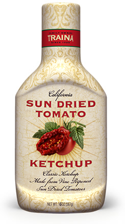 Traina Foods California Sun Dried Tomato Ketchup