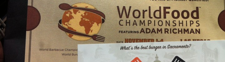 World Food Championships Golden Ticket