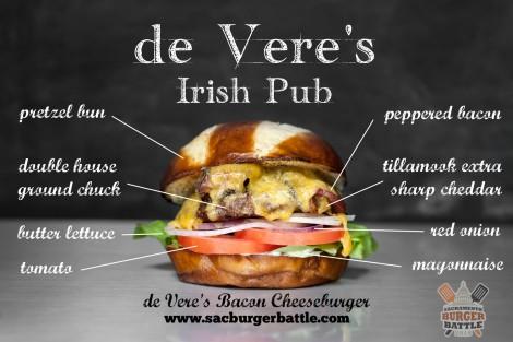 de Vere's Burger